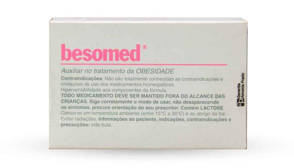 descrição do remédio besomed para obesidade