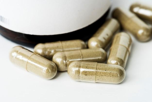 Capsulas de remédios que foram manipulados