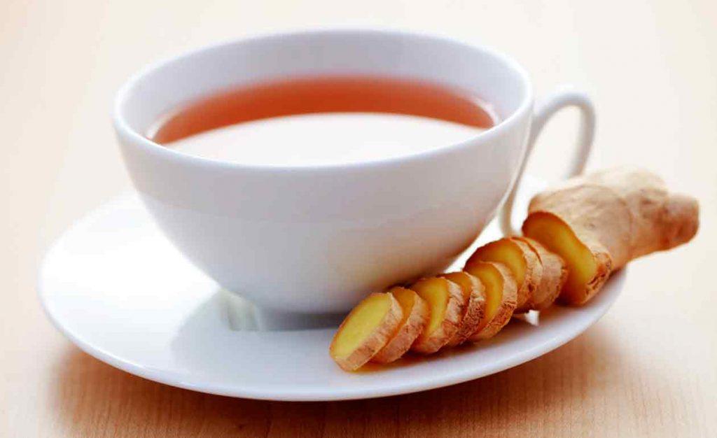 Chá da planta gengibre