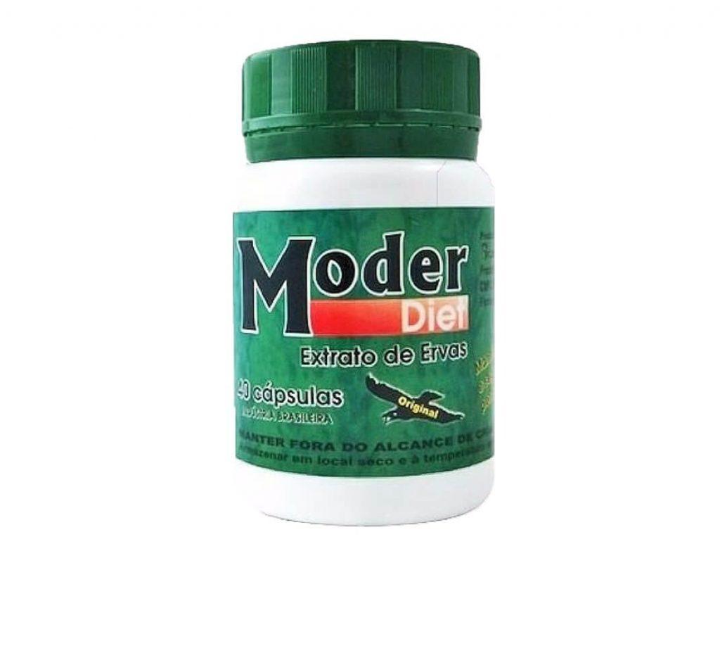 Embalagem do remédio ModerDiet