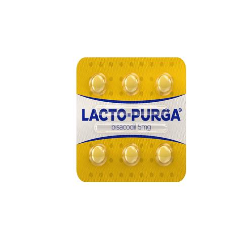 Cartela do remédio Lacto purga
