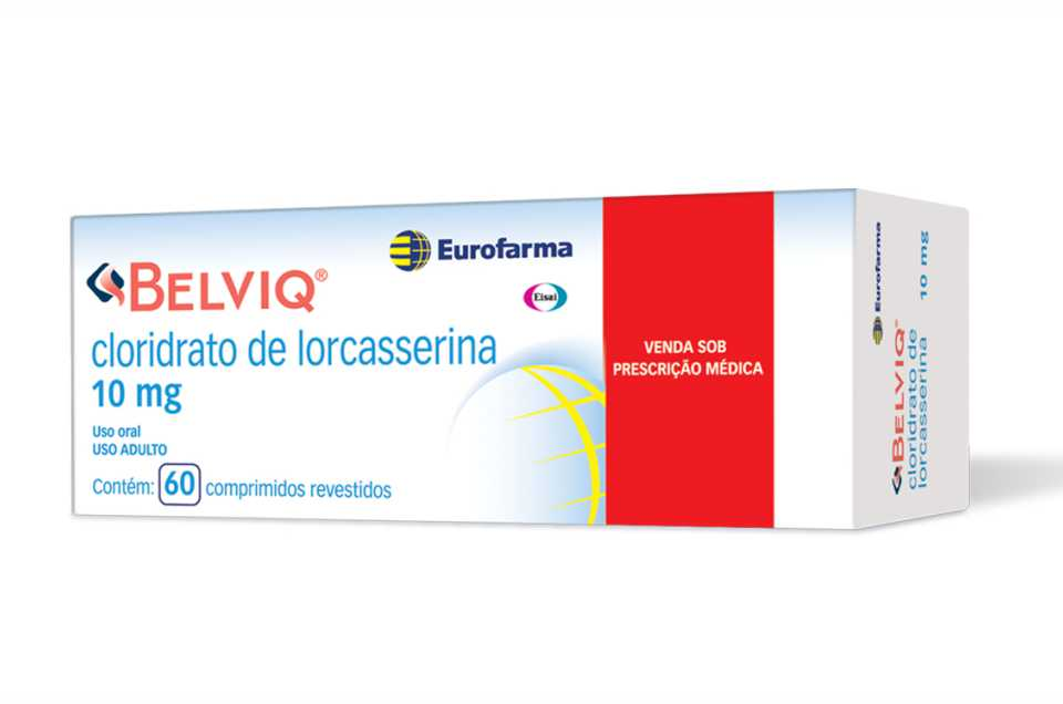 Caixa do remédio Lorcasserina