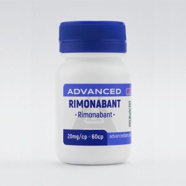 Frasco do remédio Rimonabanto
