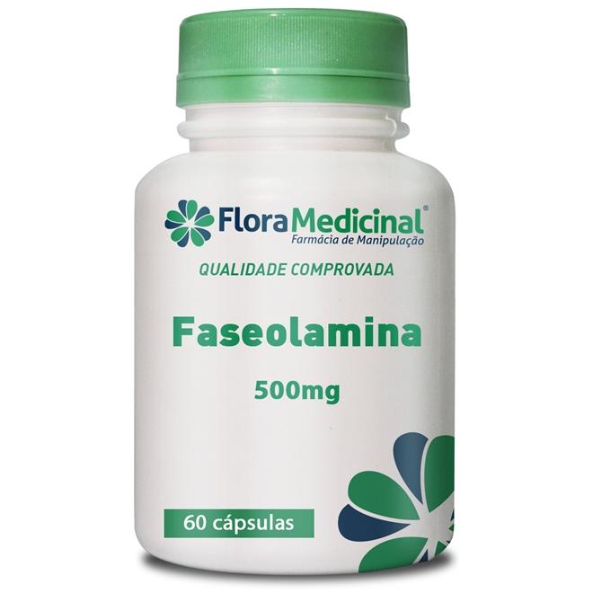 Embalagem do remédio Faseolamina em cápsulas
